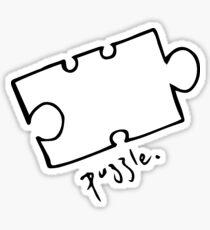 walmamy puzzle Sticker
