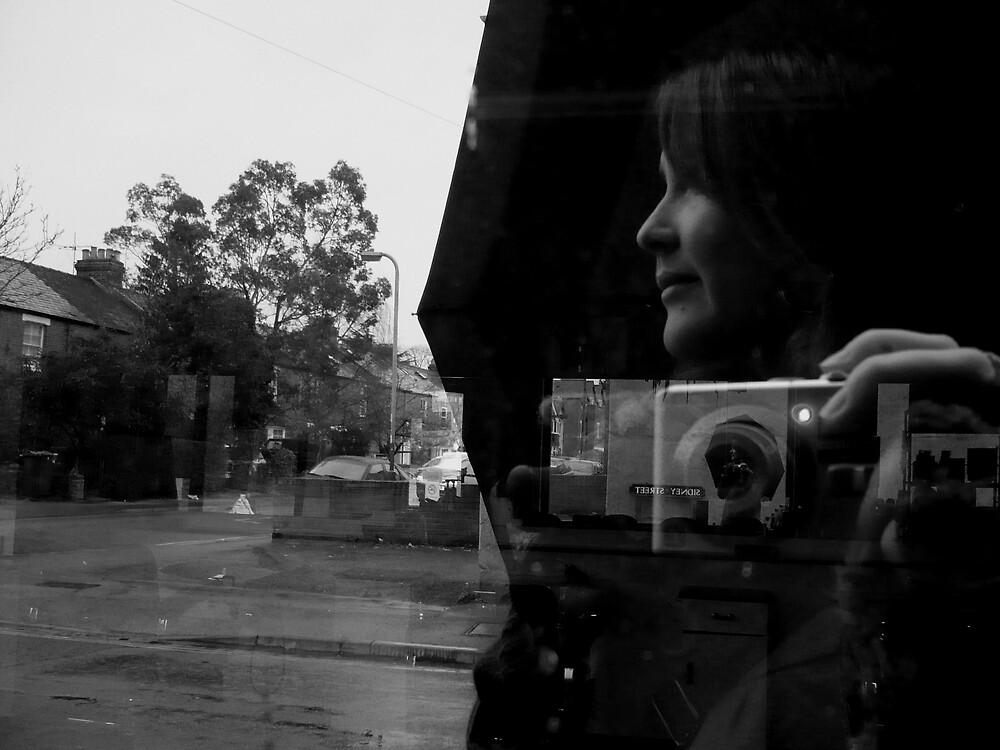 Self portrait by Caroline Cage