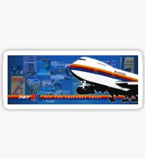 UNITED AIRLINES B747  Sticker