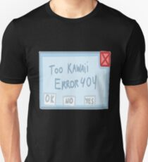 To Kawaii System Error Unisex T-Shirt