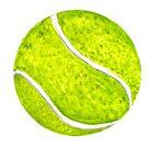 Tennisball Skizze von AnnArtshock