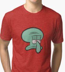 Squidward Tri-blend T-Shirt