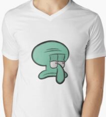 Squidward Men's V-Neck T-Shirt