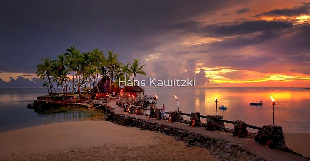 0713 Wicked Walu Sunset - Fiji by Hans Kawitzki