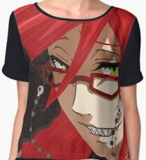 Grell - Queen of the Reapers Chiffon Top