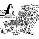 Gateway Con, Black Map & Logo by StLWritersGuild
