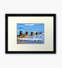 Seashore Framed Print