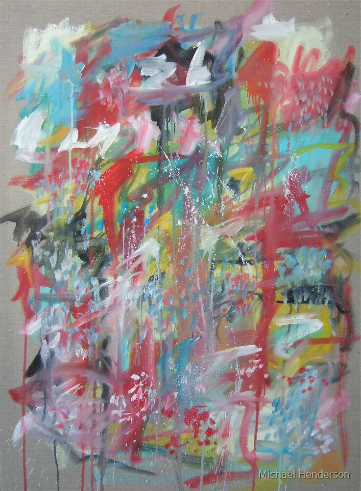 Large Abstract No. 3 by Michael Henderson