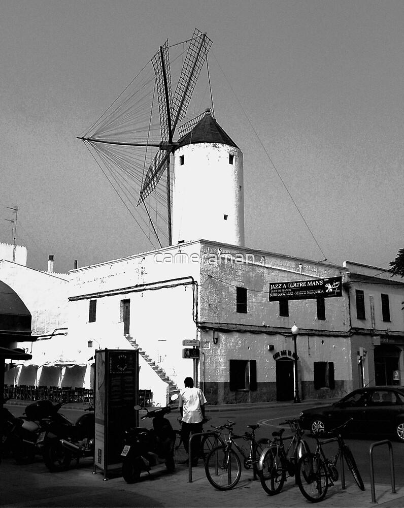windmill by cameraman