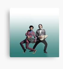Flight of the Conchords 5 Metal Print