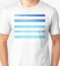 Ocean Beach Waves Summer Blues Resort  T-Shirt