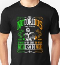 We All Go To War! Pic Unisex T-Shirt