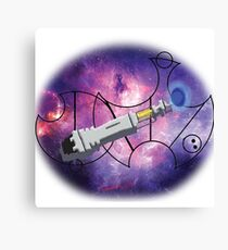 10th Doctor screw driver  Galifreyan 'Screw It' Canvas Print