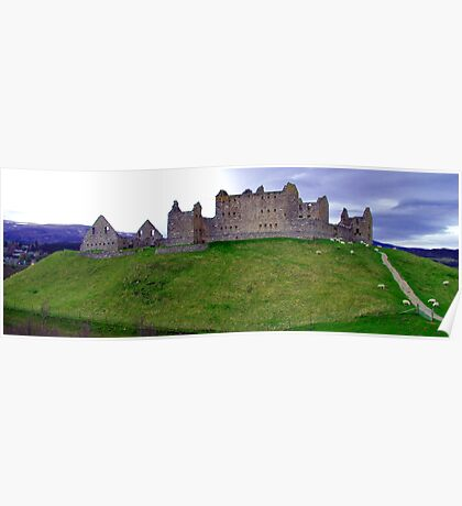 Ruthven Barracks Poster