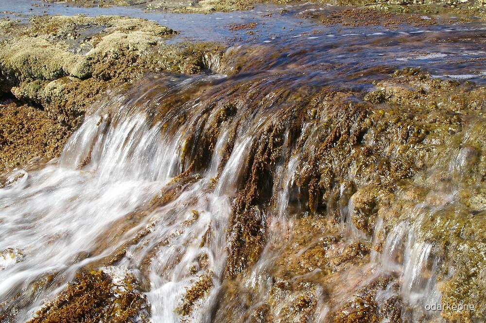 Water over Rocks by odarkeone
