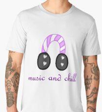 Music and Chill Men's Premium T-Shirt