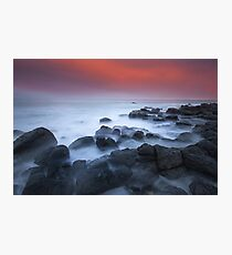 0725 Black Rocks Photographic Print