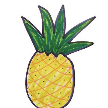 Hipster Pineapple by Jesslask7