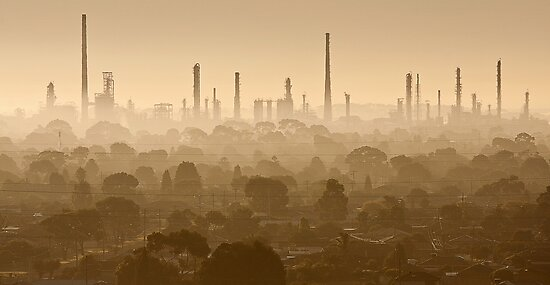 0729 Corio at Sunrise - Geelong by Hans Kawitzki