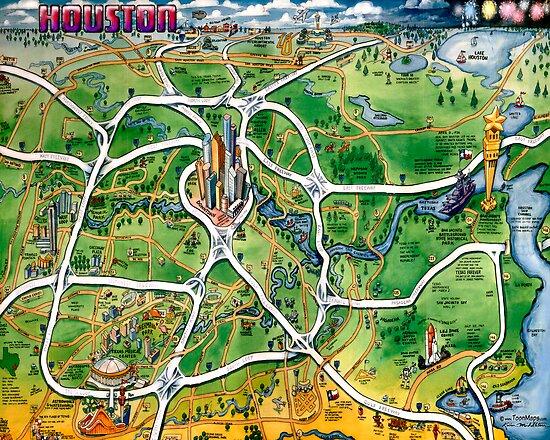 Houston Texas by Kevin Middleton