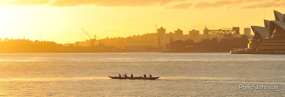 Stroke Stroke Srroke - Sydney Harbour,Sydney Australia by Philip Johnson