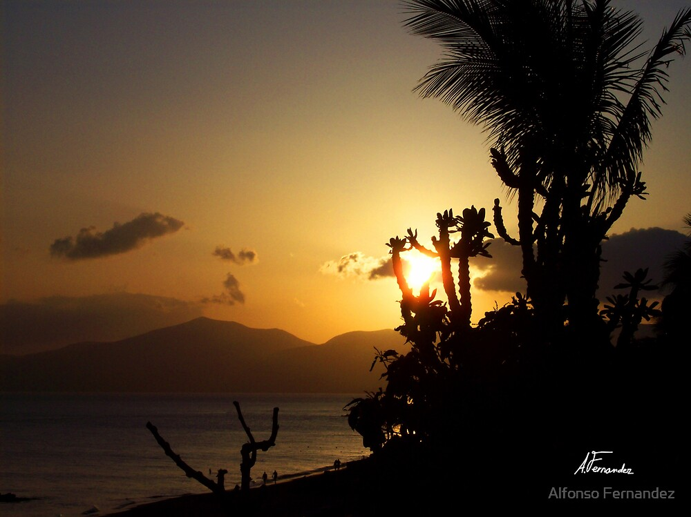 Sunset 3 by Alfonso Fernandez