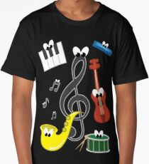 Music Long T-Shirt