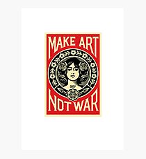 Art not War Photographic Print