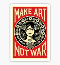 Art not War Sticker