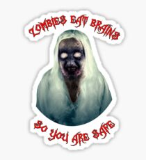 Zombies Eat Brains Sticker