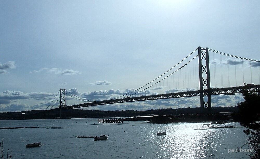 Forth Road Bridge 2 by paul boast