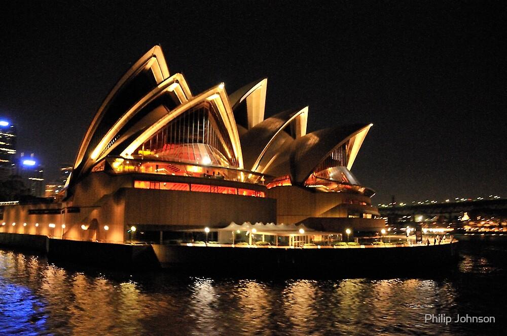Lady Of Light - Sydney Opera House, Sydney by Philip Johnson