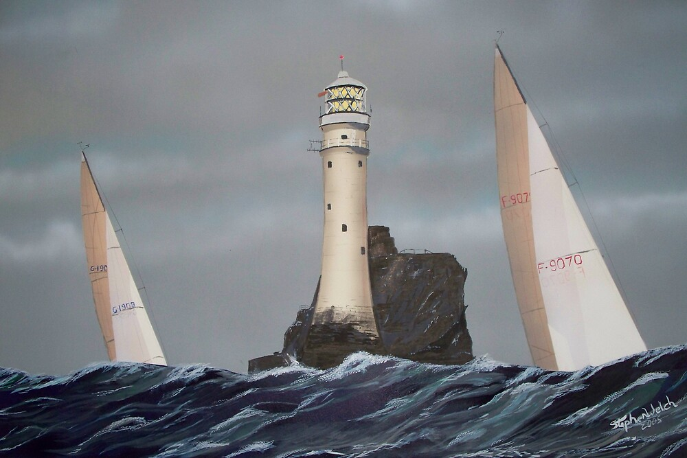 Fastnet Light by srwelch