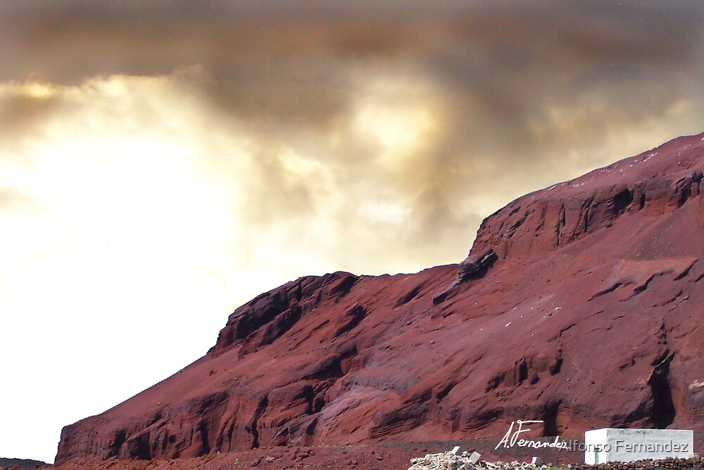 Red Mountain by Alfonso Fernandez