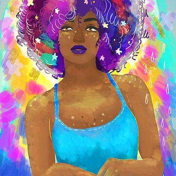 Black Girl Magic by controlzee-