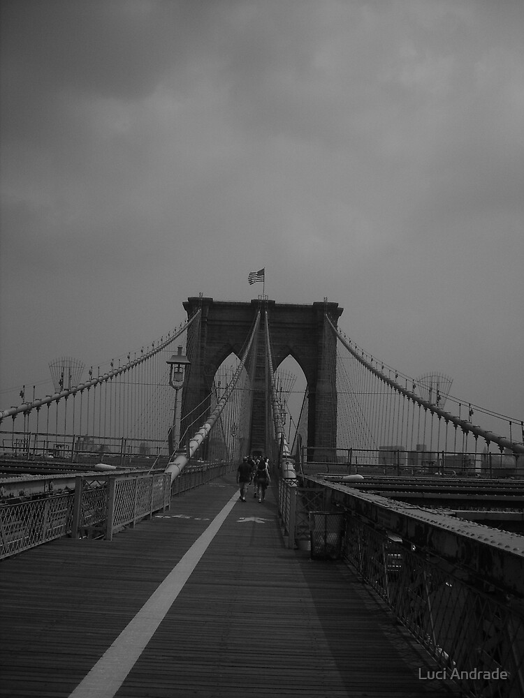 Brooklin Bridge by Luci Andrade