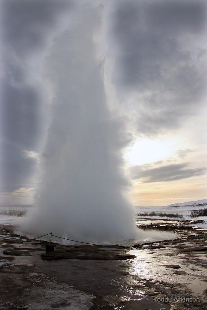 Strokkur by Roddy Atkinson