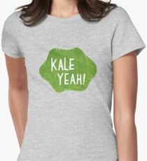 Kale Yeah! Womens Fitted T-Shirt