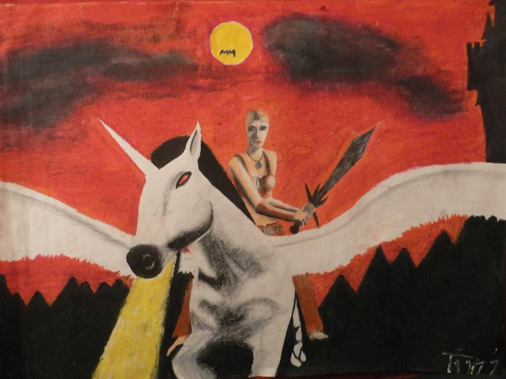 The unicorn by Artist85