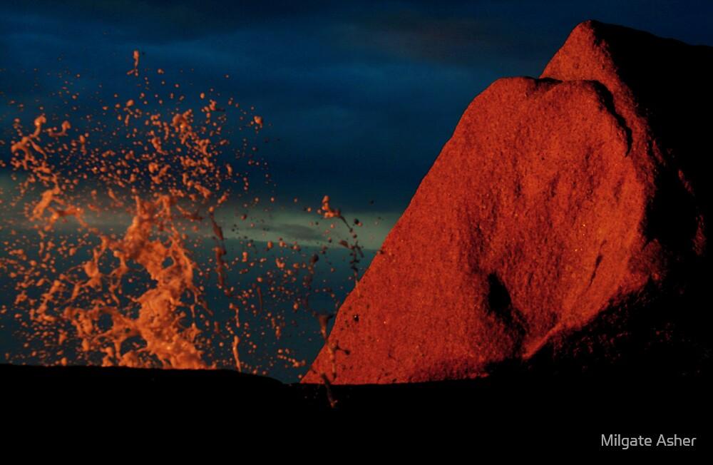 Bicheno Blow Hole, TAS by Milgate Asher