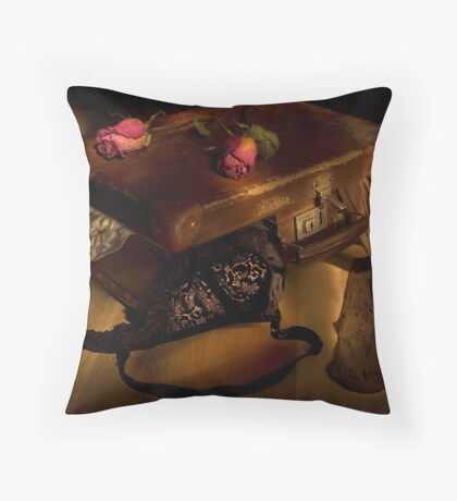 The hasty farewell Throw Pillow