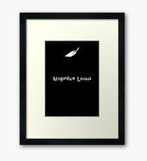 Wingardium Leviosa Framed Print