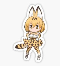 Serval Kemono Friends Sticker