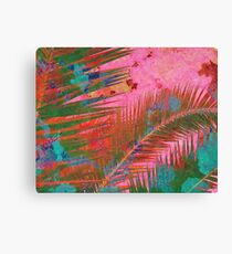 Palm leaves for Frida  Canvas Print