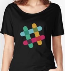 Slack Logo Women's Relaxed Fit T-Shirt