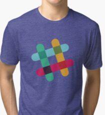 Slack Logo Tri-blend T-Shirt