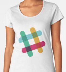 Slack Logo Women's Premium T-Shirt