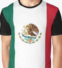 Mexican Flag Graphic T-Shirt