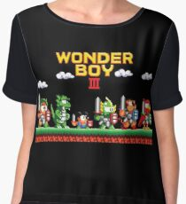 Wonder Boy Chiffon Top