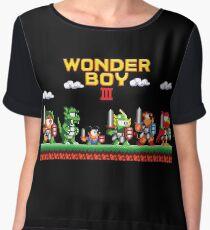 Wonder Boy Chiffon Top